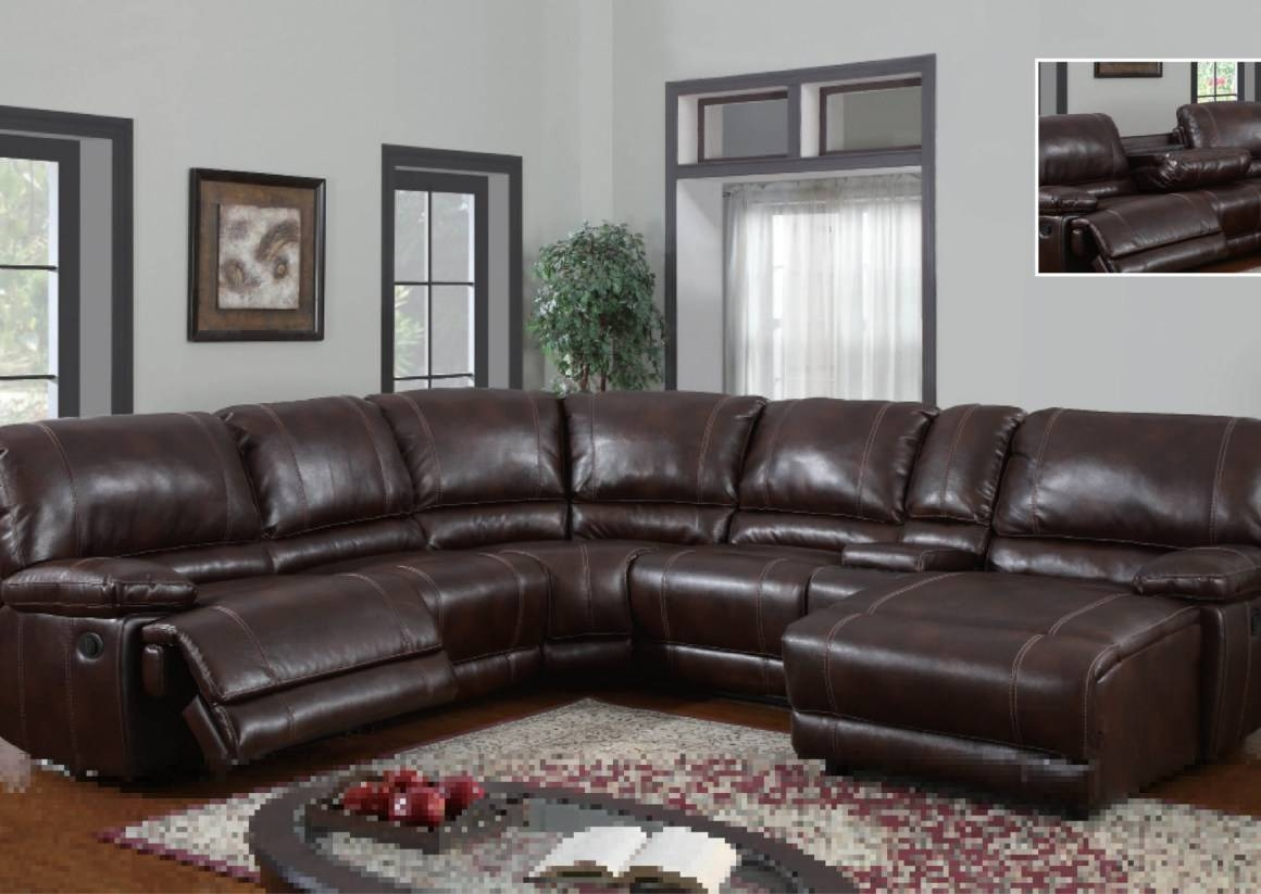 Furniture: Sectional Sofas Recliners | Sectional Reclining Sofas Intended For Jedd Fabric Reclining Sectional Sofa (Image 18 of 30)
