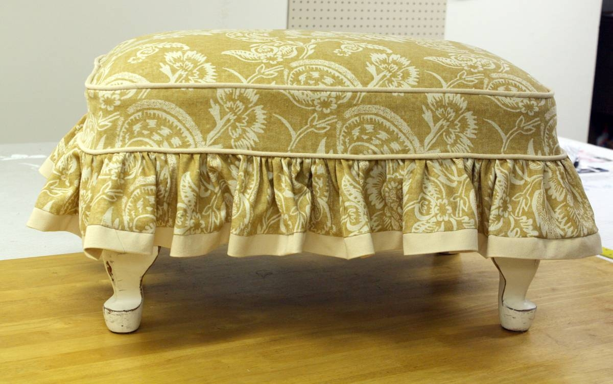 Furniture: Simple Ideas Of Houndstooth Ottoman For Living Room Inside Animal Print Ottoman Coffee Tables (View 17 of 30)