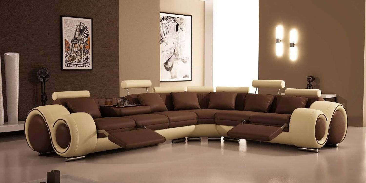 Furniture: Sleeper Sectional | Cheap Leather Couches | Sectional pertaining to Sectional Sofa Recliners (Image 16 of 30)
