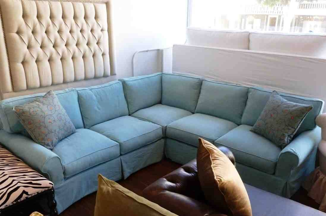 Furniture: Slipcovers For Sectional That Applicable To All Kinds intended for Teal Sofa Slipcovers (Image 3 of 30)