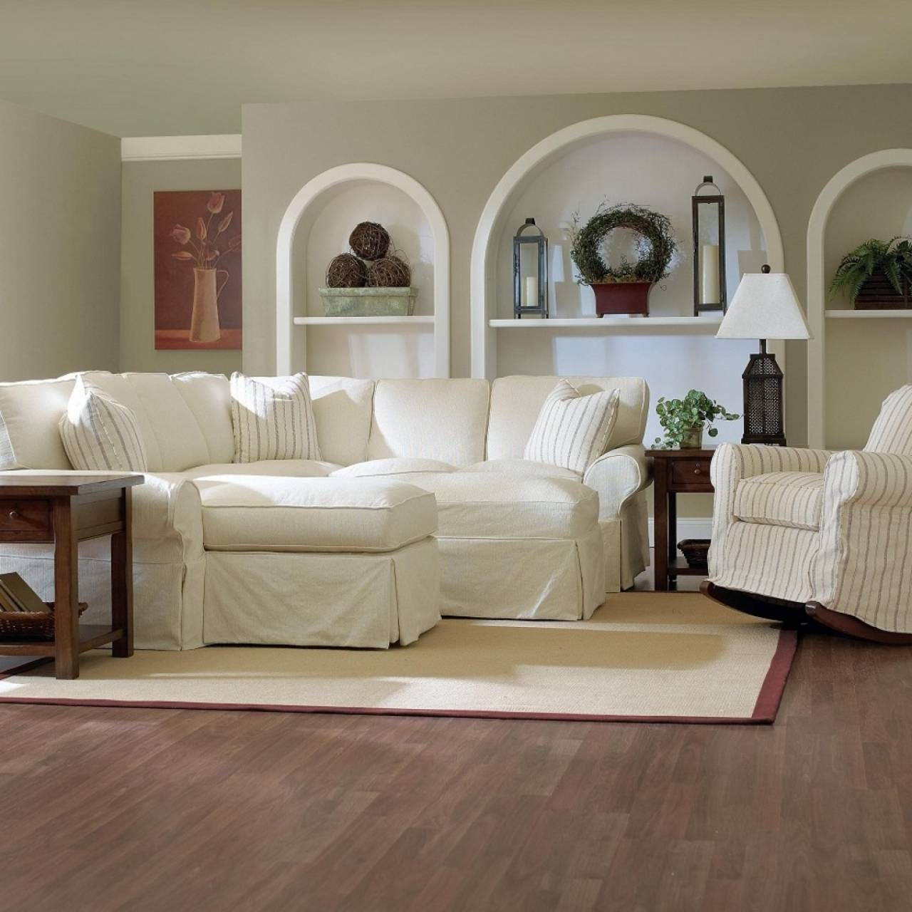 Furniture: Slipcovers For Sectional That Applicable To All Kinds regarding Slipcover For Leather Sectional Sofas (Image 12 of 30)
