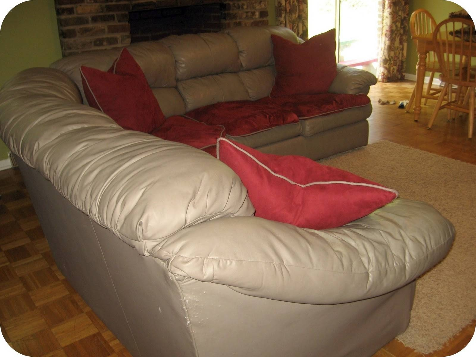 Featured Photo of Slipcover For Leather Sofas
