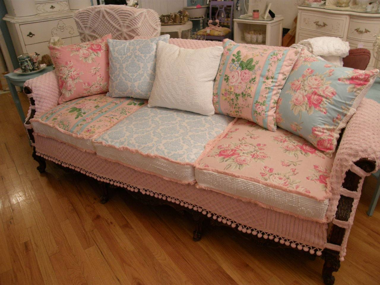 Furniture: Sofa Arm Covers | Couch Slip Cover | Recliner Covers For Country Cottage Sofas And Chairs (View 20 of 30)