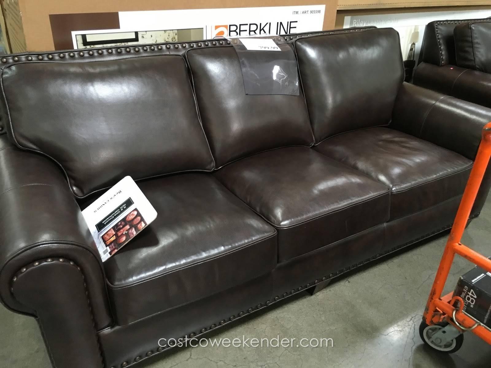 Berkline Leather Sofa Recliner