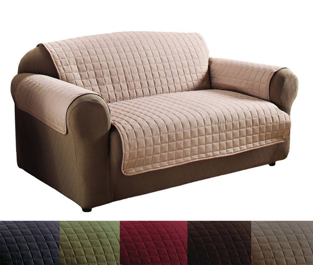 Furniture: Sofa Protectors | Waterproof Couch Cover | Couch Protectors Pertaining To Sofa Settee Covers (View 15 of 30)