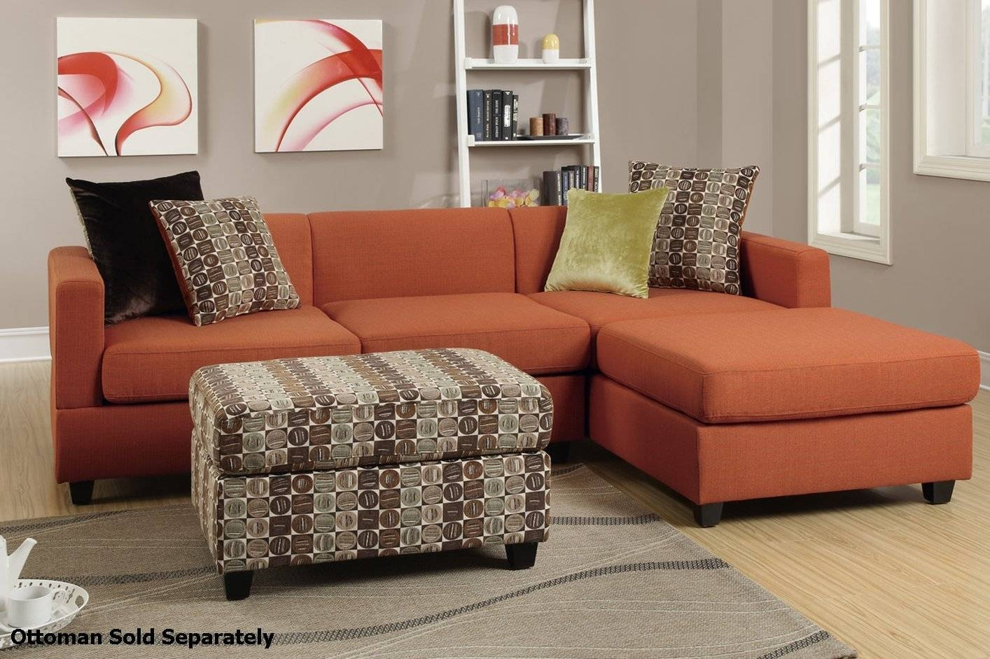 Furniture: Sophisticated Sofas Under 300 For Your Inspirations with Cloth Sectional Sofas (Image 15 of 30)