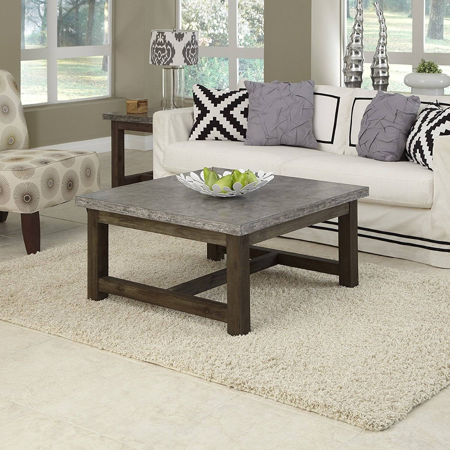 Furniture: Square Coffee Table With Coffee Table Enchanting Square In Square Wooden Coffee Tables (View 17 of 30)