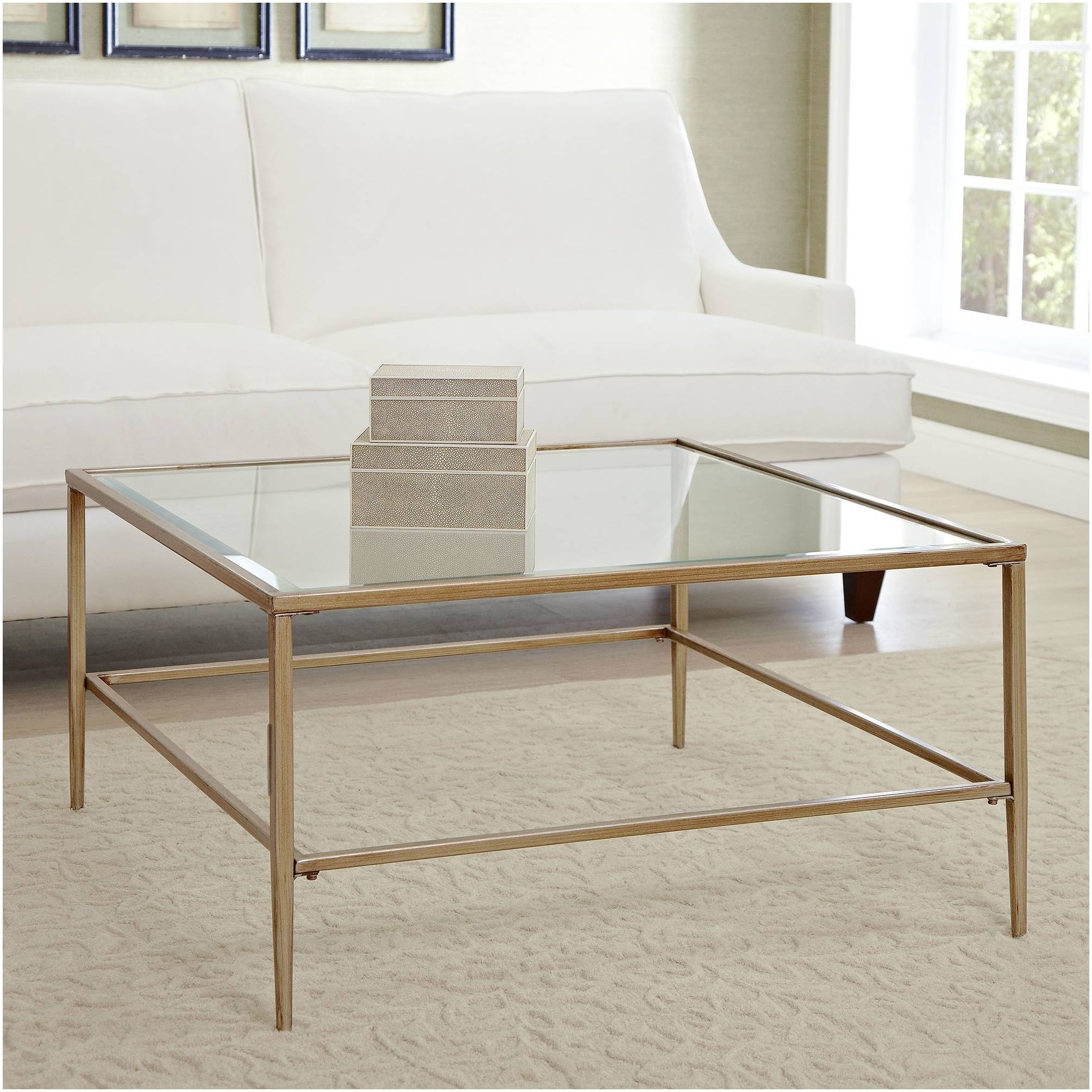 Furniture ~ Square Coffee Table With Storage Uk Image Of Square for Large Square Glass Coffee Tables (Image 16 of 30)