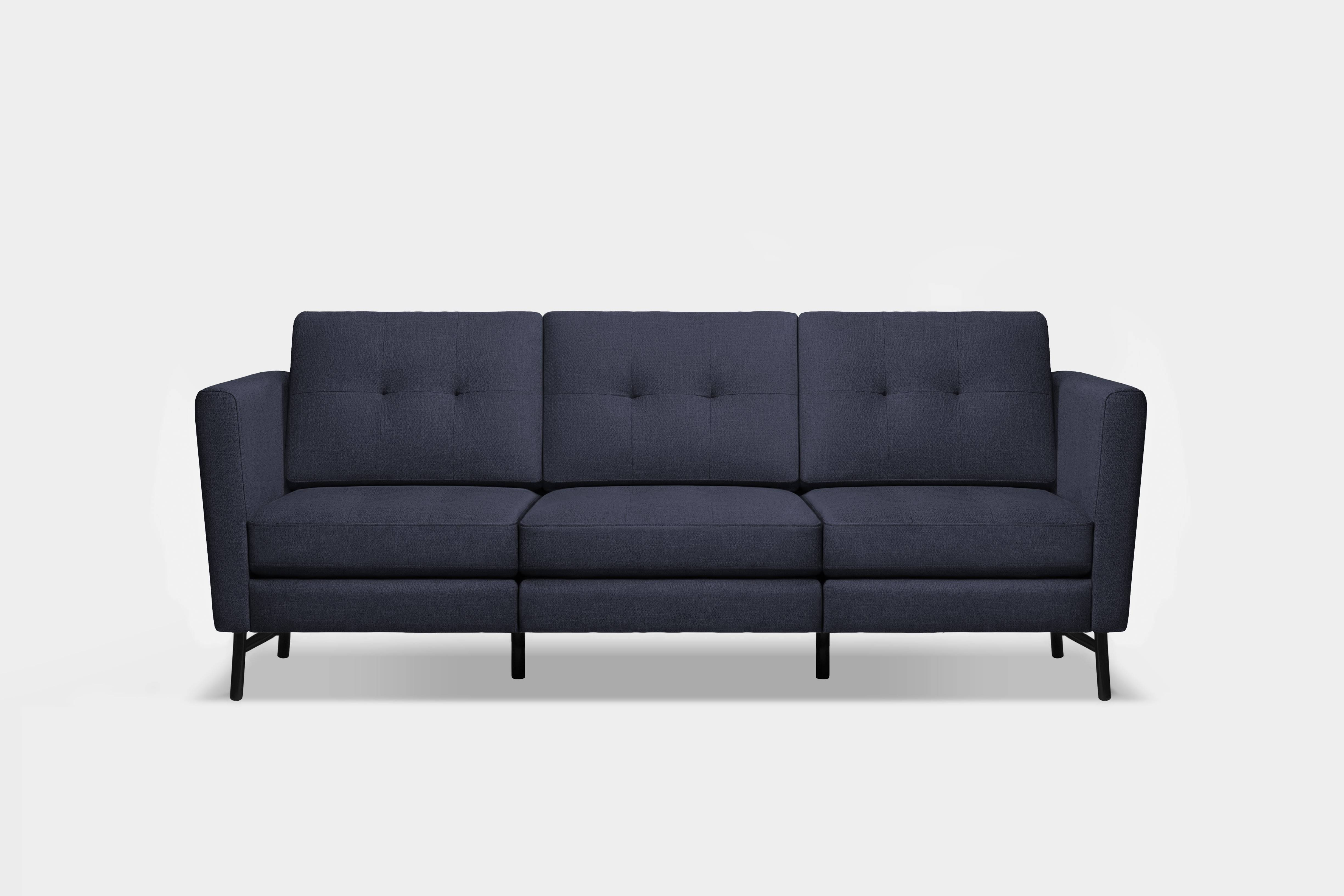 Furniture Startup Burrow Launches A Modular Sofa For Millennials intended for Mid Range Sofas (Image 13 of 30)