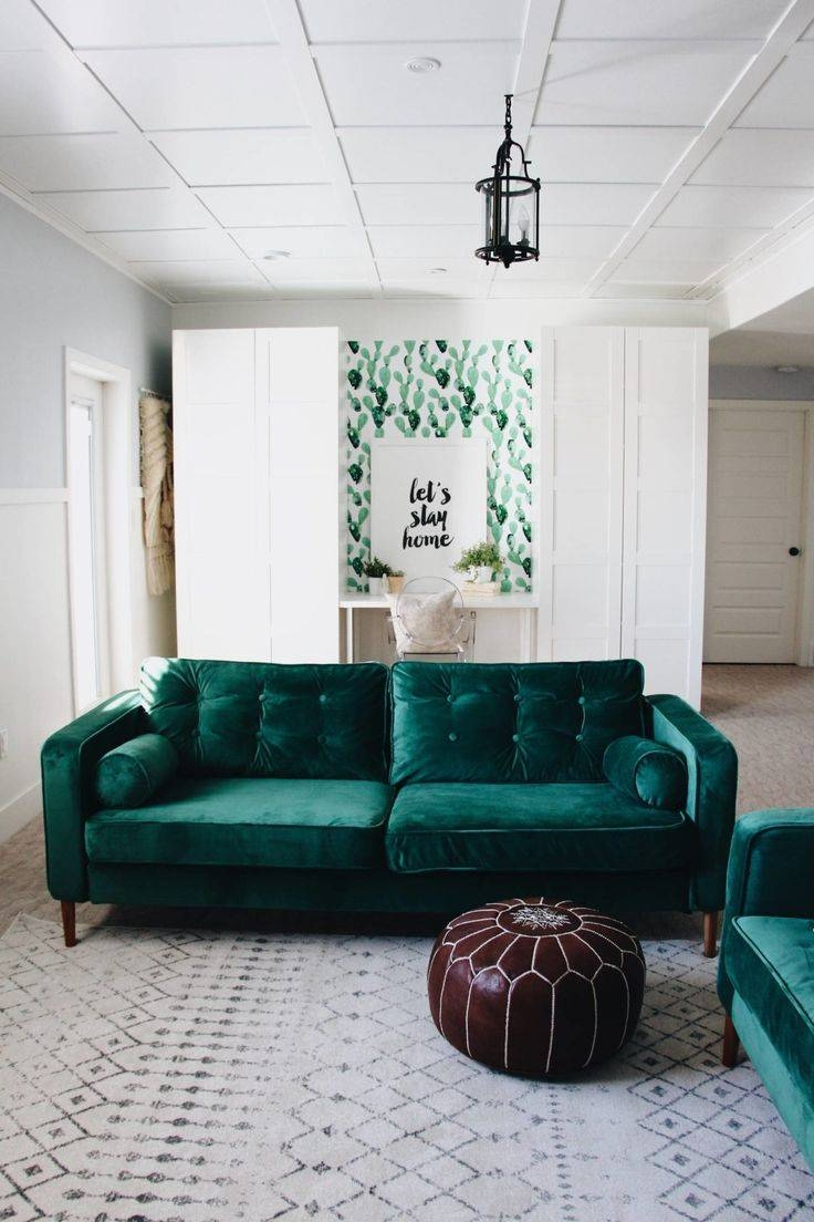 Furniture: Stunning Ikea Karlstad Sofa Cover For Your Sofa Need with Turquoise Sofa Covers (Image 13 of 30)