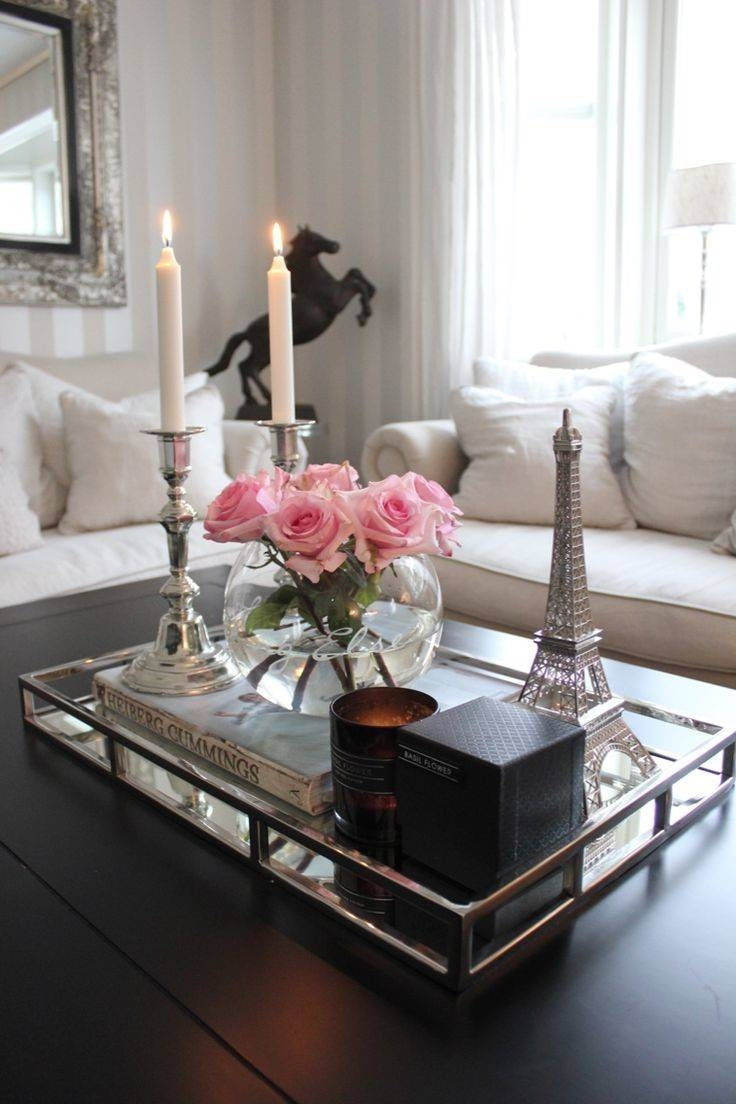 Furniture: Stunning Tray Coffee Table Design Ideas Decorative throughout Round Tray Coffee Tables (Image 13 of 30)
