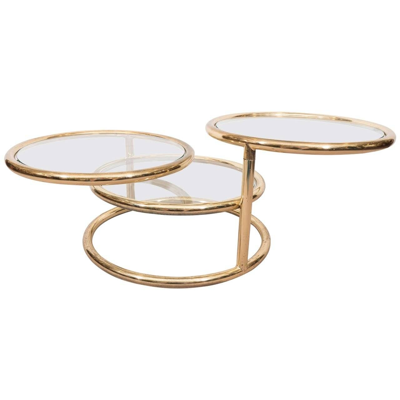 Furniture: Swivel Coffee Table | Kidney Shaped Coffee Table for Round Swivel Coffee Tables (Image 15 of 30)