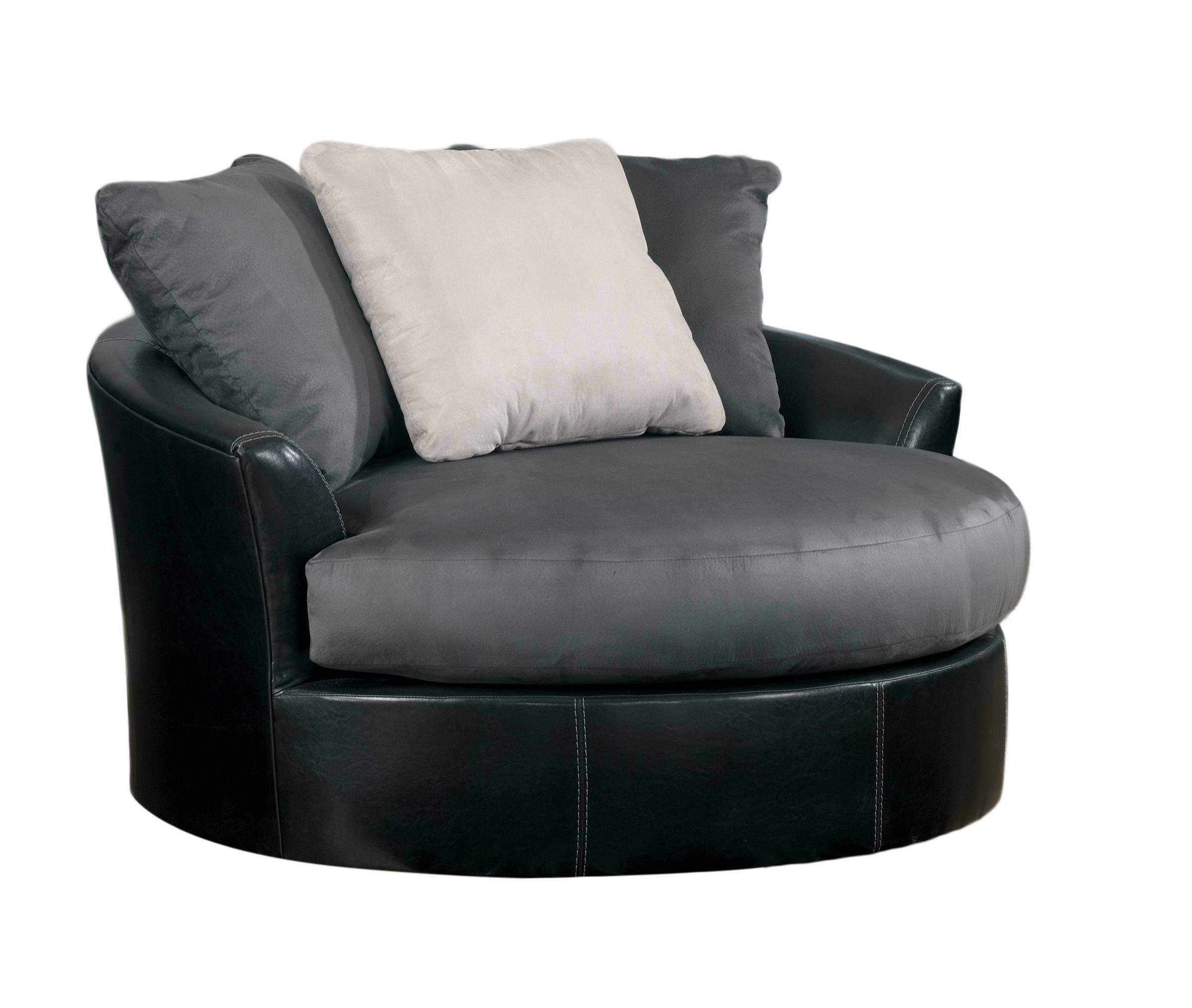 Furniture: Swivel Sofa Chair And Oversized Round Swivel Chair With Regard To Swivel Sofa Chairs (View 16 of 30)