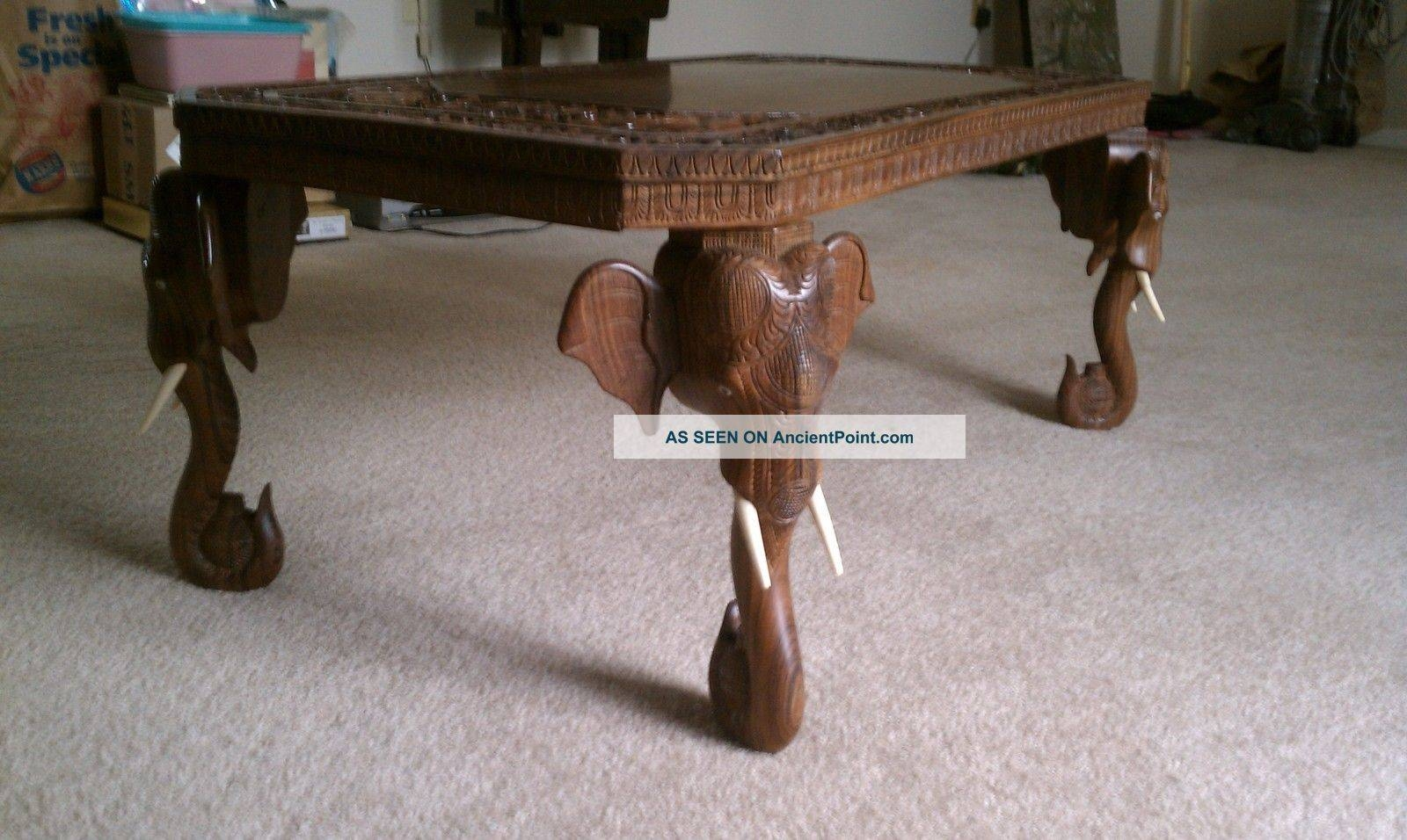 Furniture - Tables | Antiques Browser throughout Elephant Coffee Tables (Image 20 of 30)
