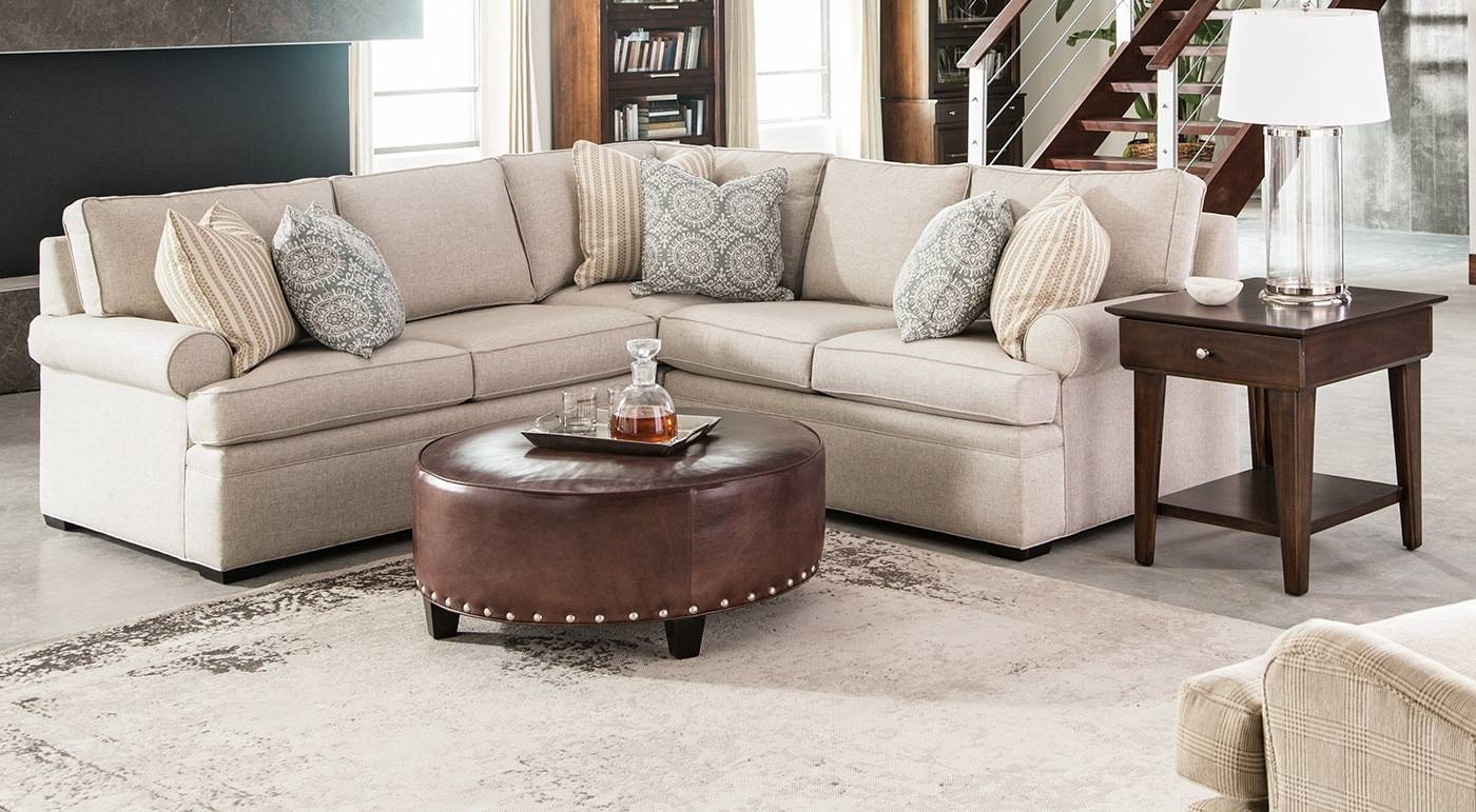 Furniture: Thomasville Sectional Sofas With Blends Classic regarding Classic Sectional Sofas (Image 17 of 30)