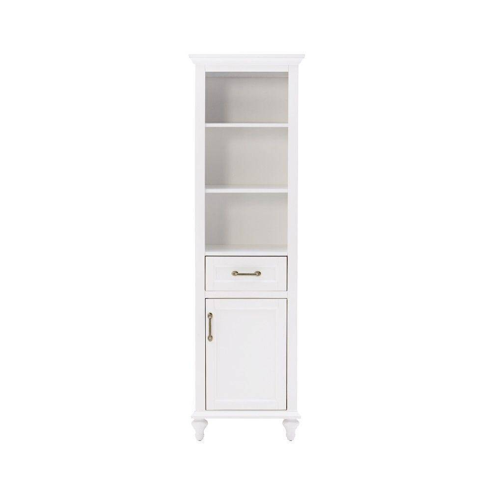 Furniture: Tips For Choosing Linen Storage Cabinet That Matches regarding Shallow Sideboard Cabinets (Image 15 of 30)