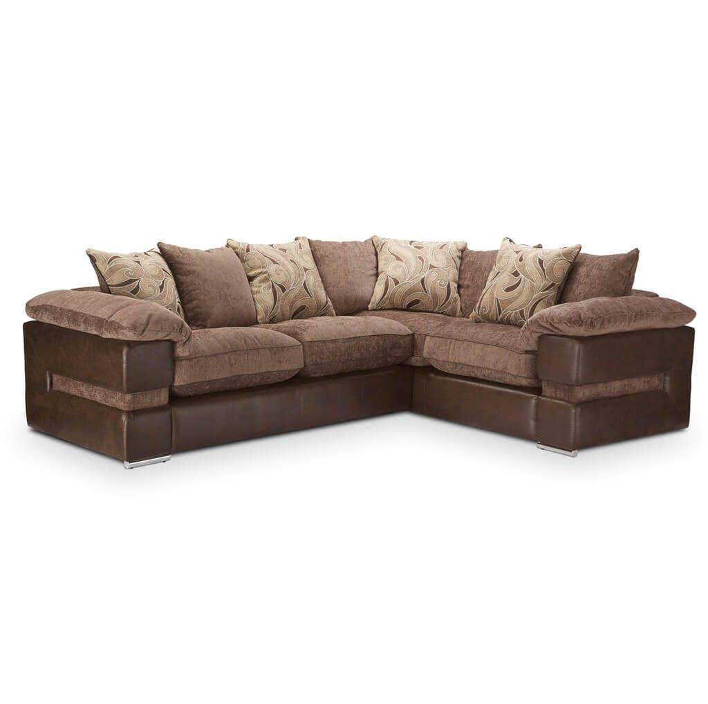 Furniture: Tips To Have Cozy Room With Leather Corner Sofa With Regard To Small Brown Leather Corner Sofas (View 9 of 30)