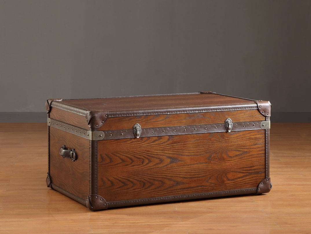 Furniture : Trunk Coffee Tables With Storage The Best Woods For within Storage Trunk Coffee Tables (Image 13 of 30)