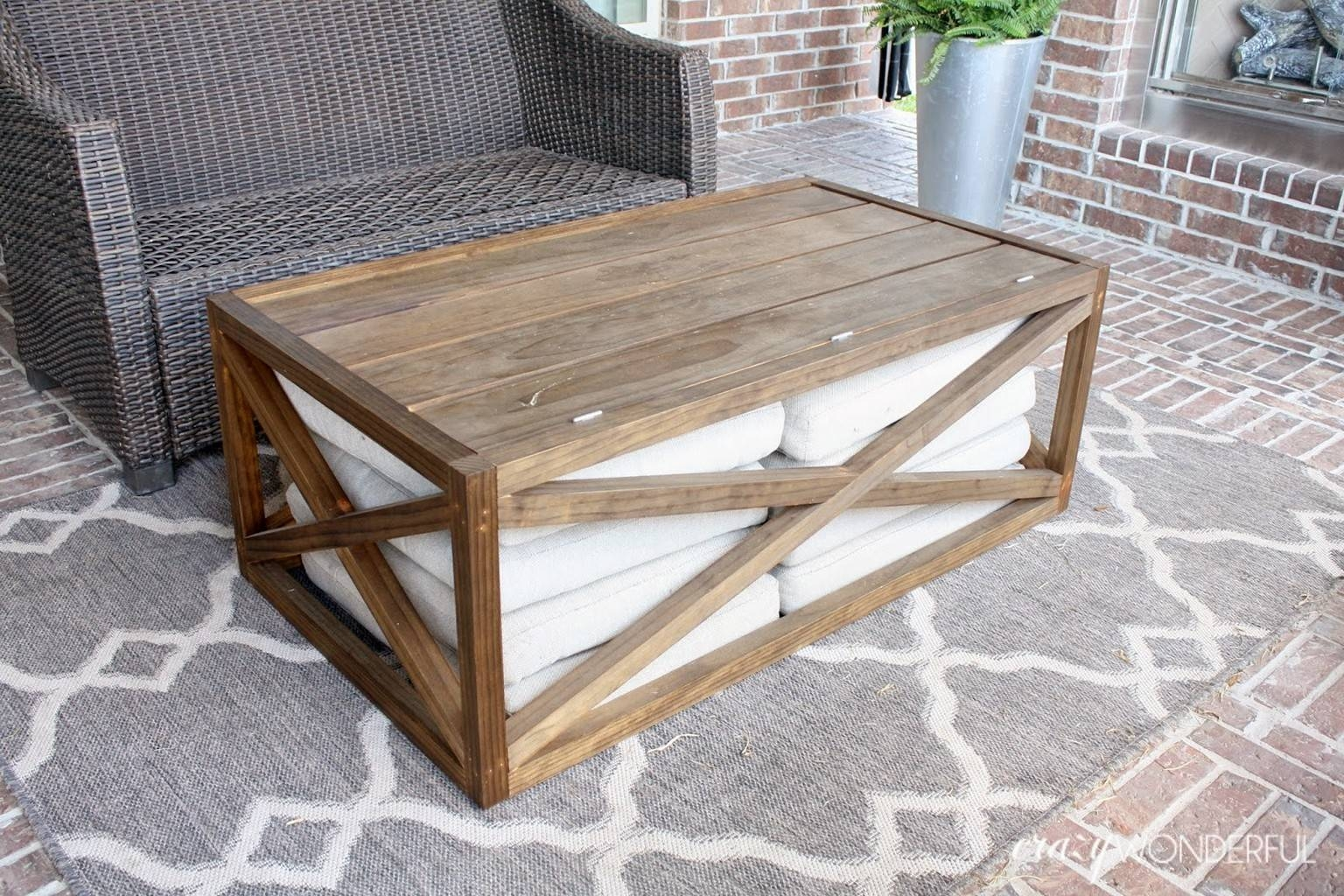 Furniture: Unique Homemade Coffee Table For More Project Ideas for Rustic Storage Diy Coffee Tables (Image 16 of 30)