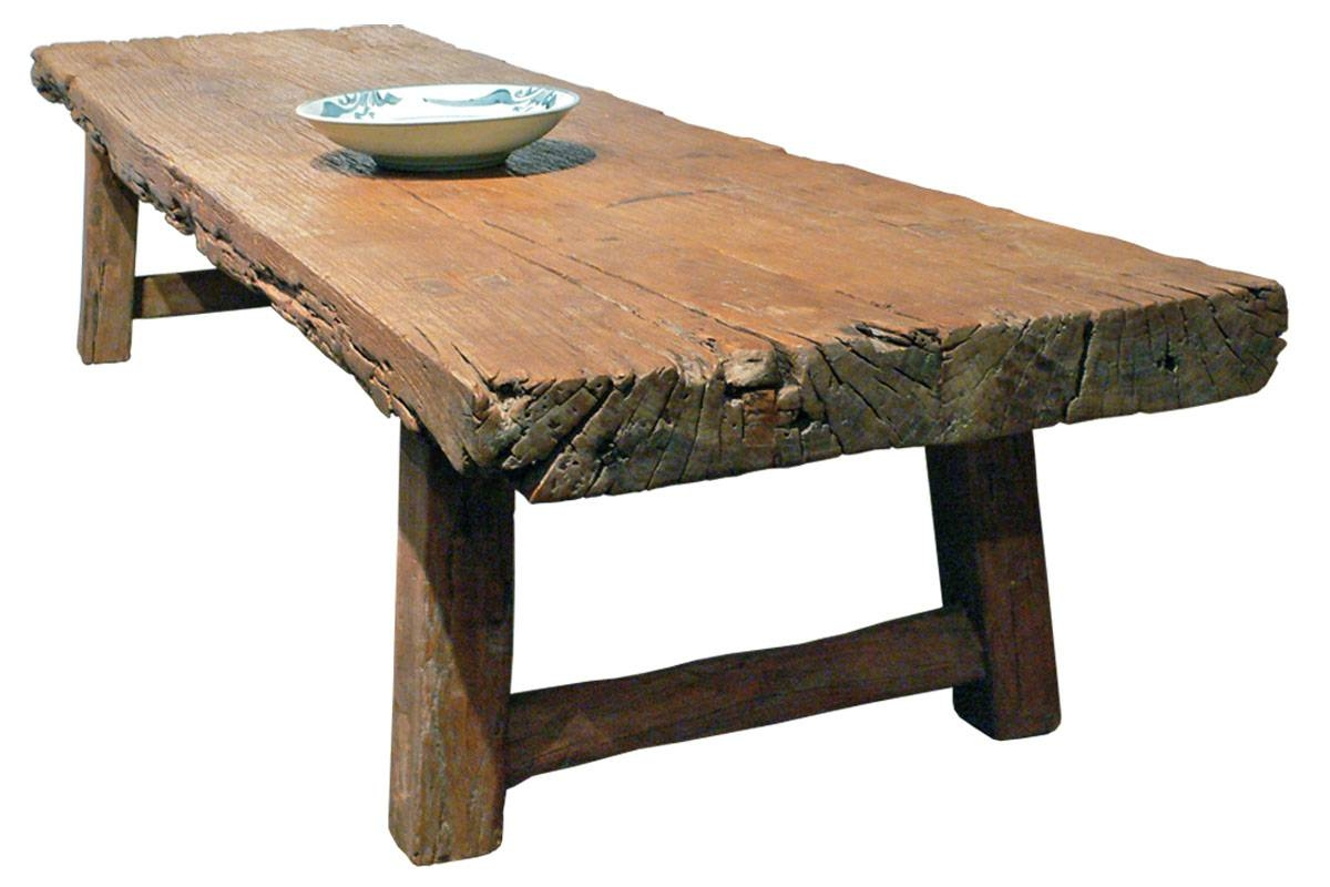 Furniture: Unique Rustic Coffee Table For Elegant Living Room With Regard To Antique Rustic Coffee Tables (View 3 of 30)