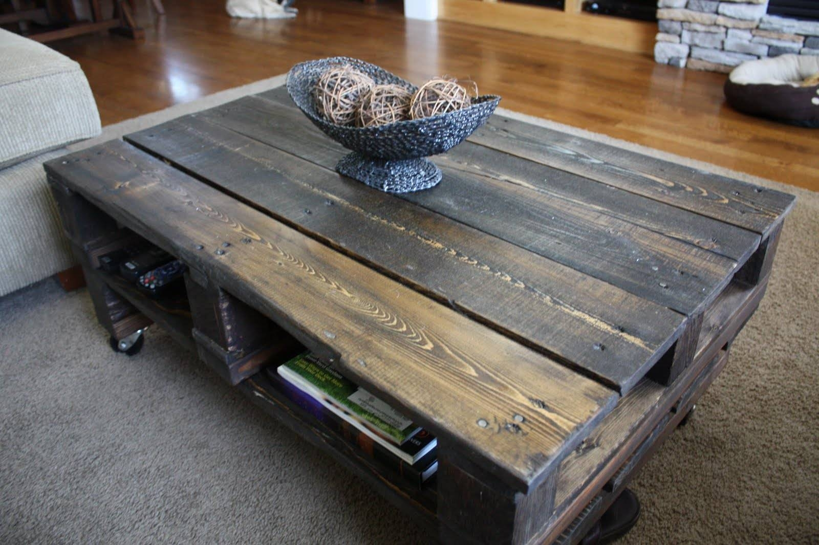 Furniture: Unique Rustic Coffee Table For Elegant Living Room with Rustic Coffee Table With Wheels (Image 15 of 30)