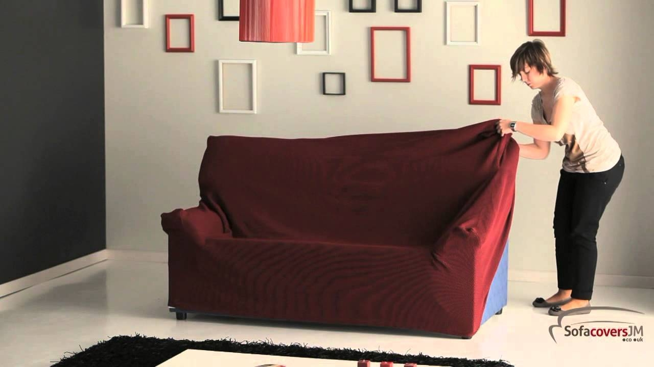 Furniture: Update Your Living Room With Best Sofa Slipcover Design intended for 2 Piece Sofa Covers (Image 14 of 30)