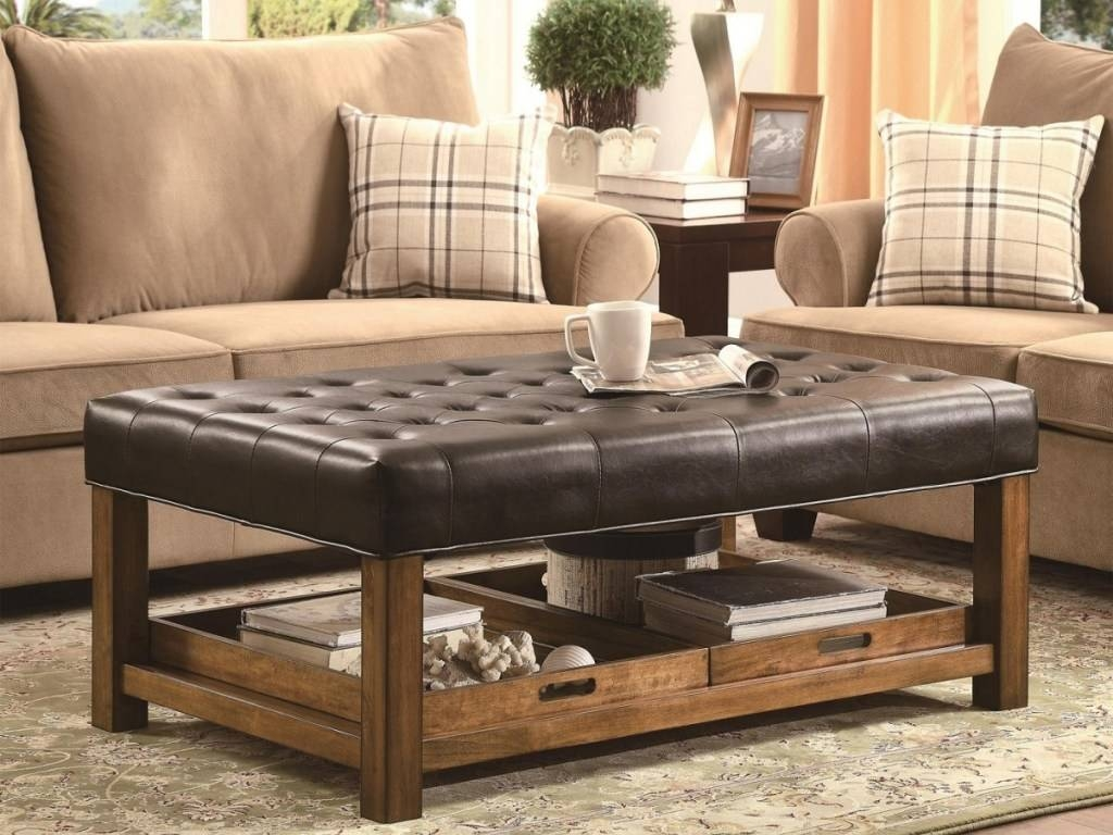 Furniture: Walmart Ottoman For Concealed Storage Space — Kool-Air pertaining to Animal Print Ottoman Coffee Tables (Image 20 of 30)
