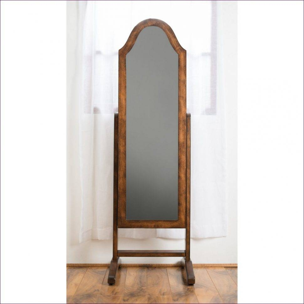 Furniture : White Leaning Floor Mirror Silver Standing Mirror Big in Distressed Silver Mirrors (Image 11 of 25)