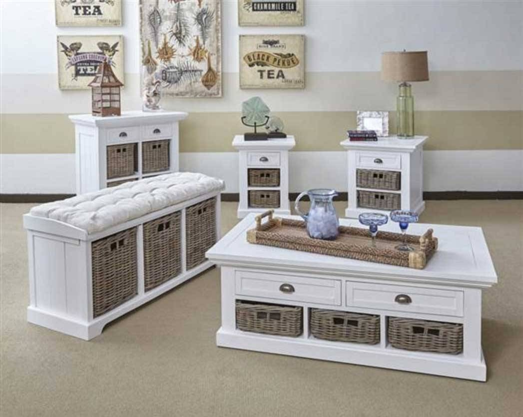 Best 30 of white coffee tables with baskets geotapseo Image collections