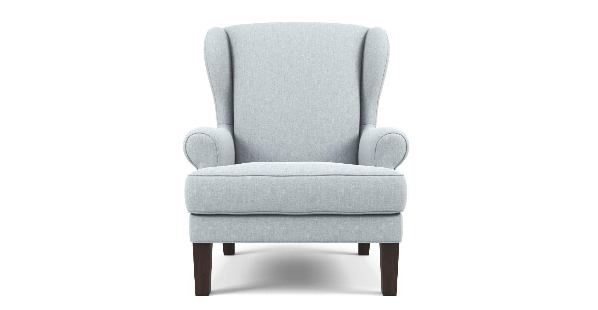Furniture: Wing Armchairs | Small Wingback Chairs | Wingback pertaining to Small Armchairs (Image 18 of 30)