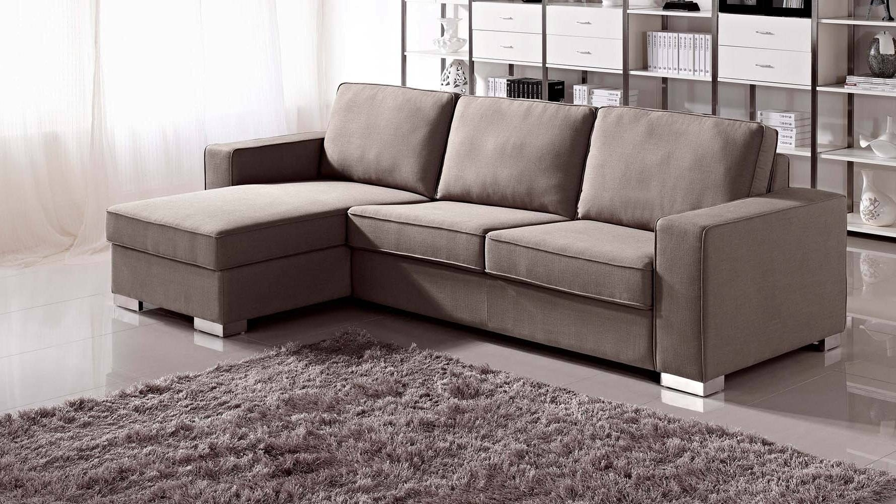 Furniture: Wondrous Alluring Sectional With Sleeper For Home With Sectional Sofas With Sleeper And Chaise (View 19 of 30)