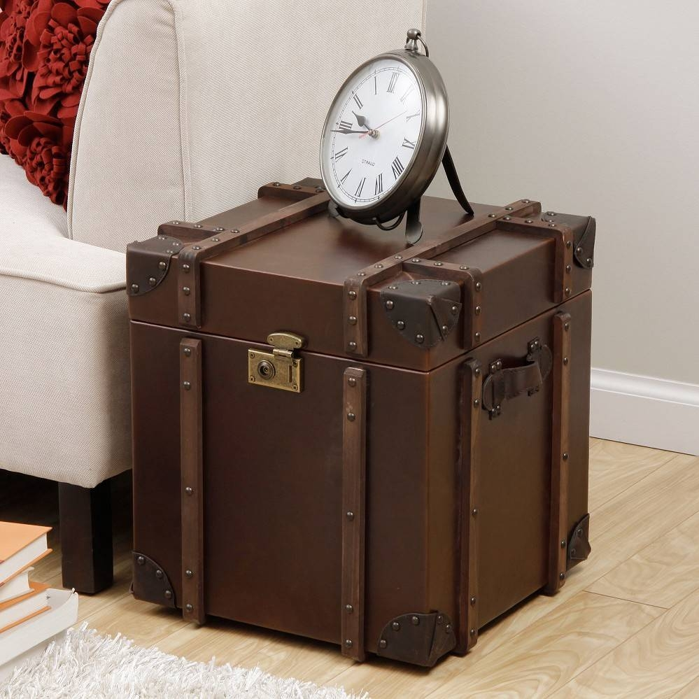 Furniture: Wooden Trunks Coffee Tables Coffee Table Chest Trunk within Silver Trunk Coffee Tables (Image 14 of 30)