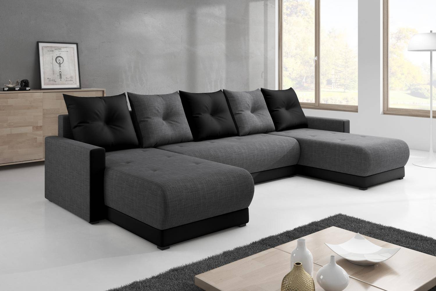 Furniturejersey with C Shaped Sofas (Image 20 of 30)
