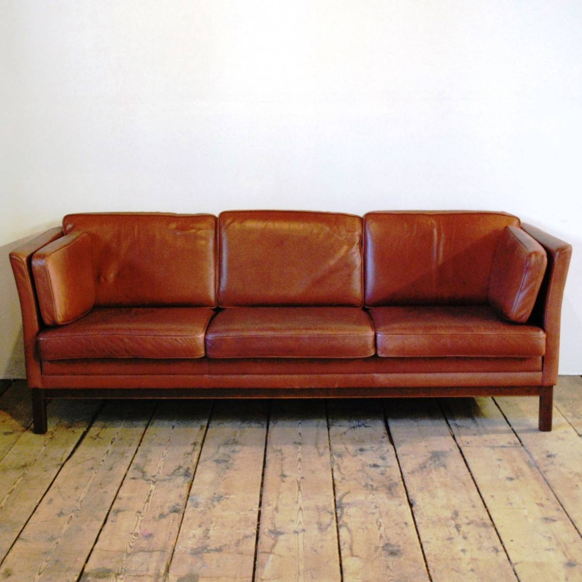 Furnitures: Costco Couch | Full Grain Leather Sofa | Burgundy inside Full Grain Leather Sofas (Image 25 of 30)