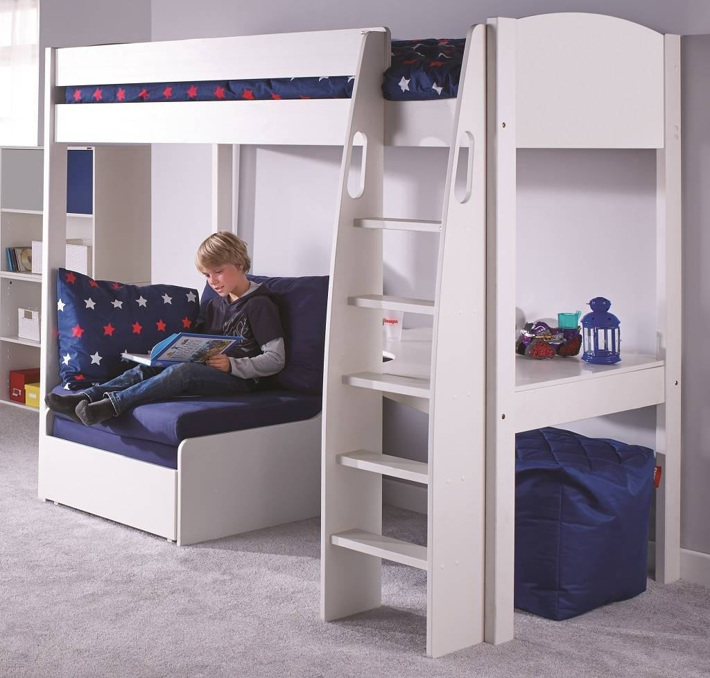 Featured Photo of High Sleeper With Wardrobes And Futon