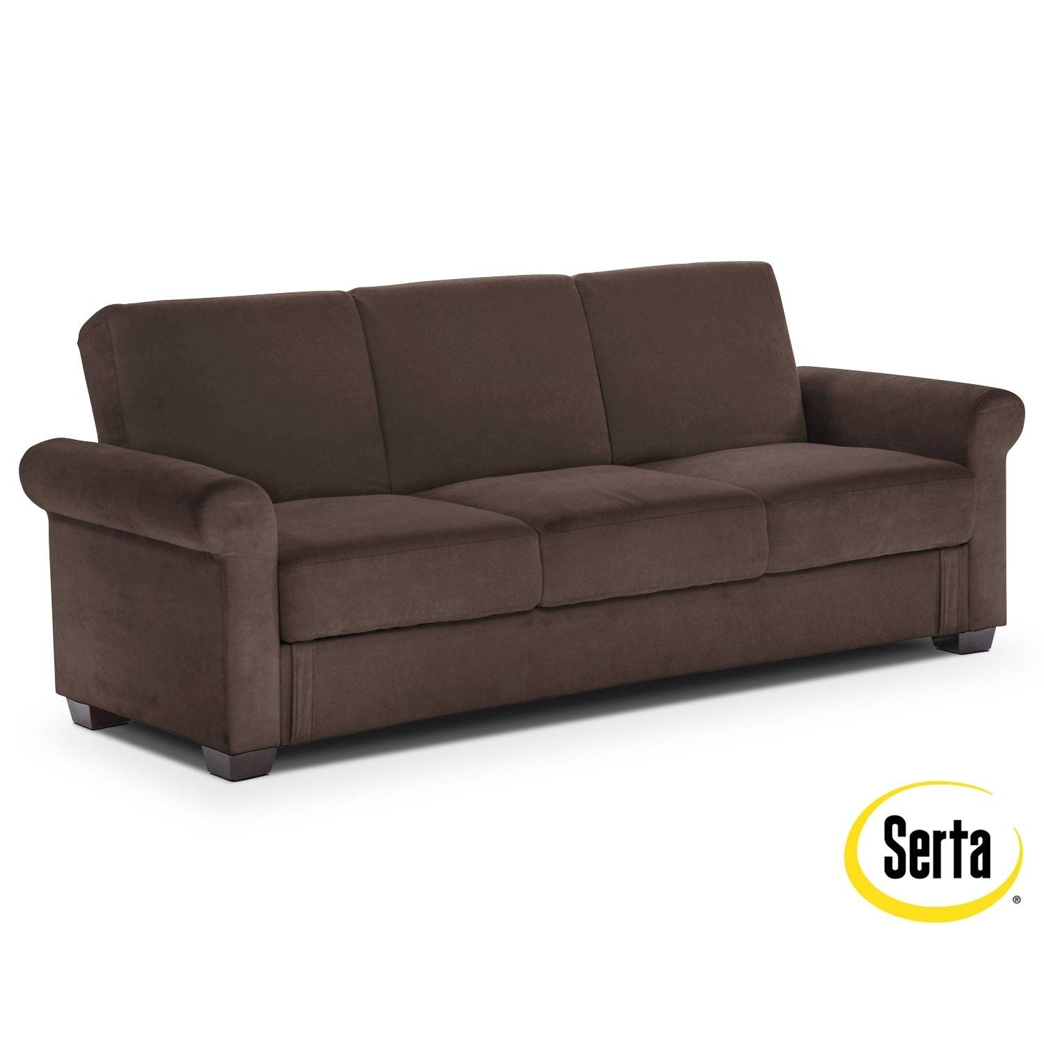 Futons | Living Room Seating | Value City Furniture pertaining to Leather Sofa Beds With Storage (Image 15 of 30)