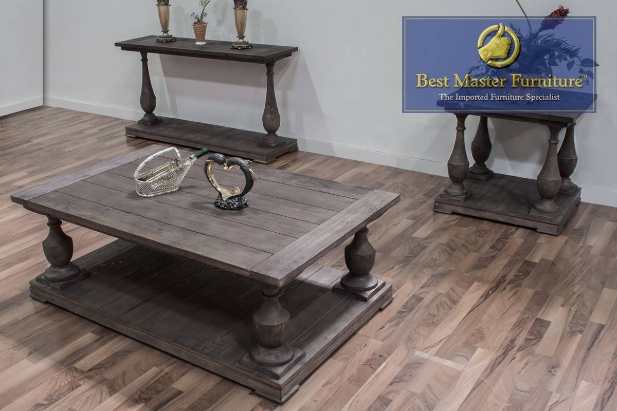 Fw138 Coffee, End, And Sofa Table | Best Master Furniture with regard to Sofa Table With Chairs (Image 18 of 30)