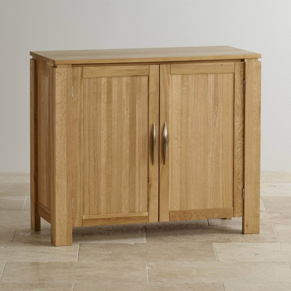 Galway Small Sideboard In Natural Solid Oak   Oak Furniture Land pertaining to Narrow Oak Sideboards (Image 9 of 30)