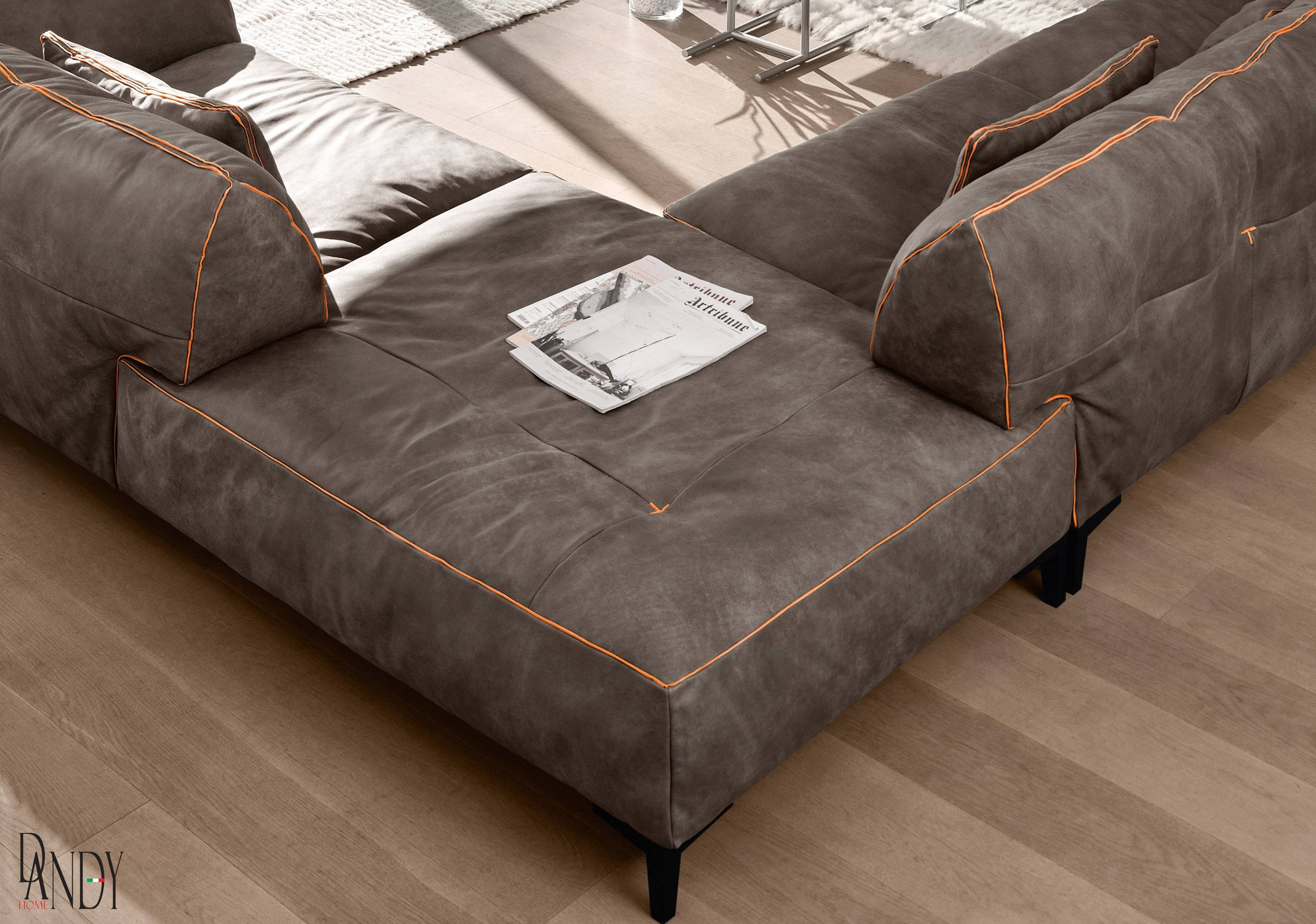 Gamma Arredamenti - Neo Furniture inside High End Leather Sectional Sofa (Image 3 of 25)