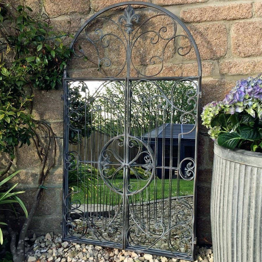 Garden Gate Mirror – Shopwiz pertaining to Garden Wall Mirrors (Image 17 of 25)