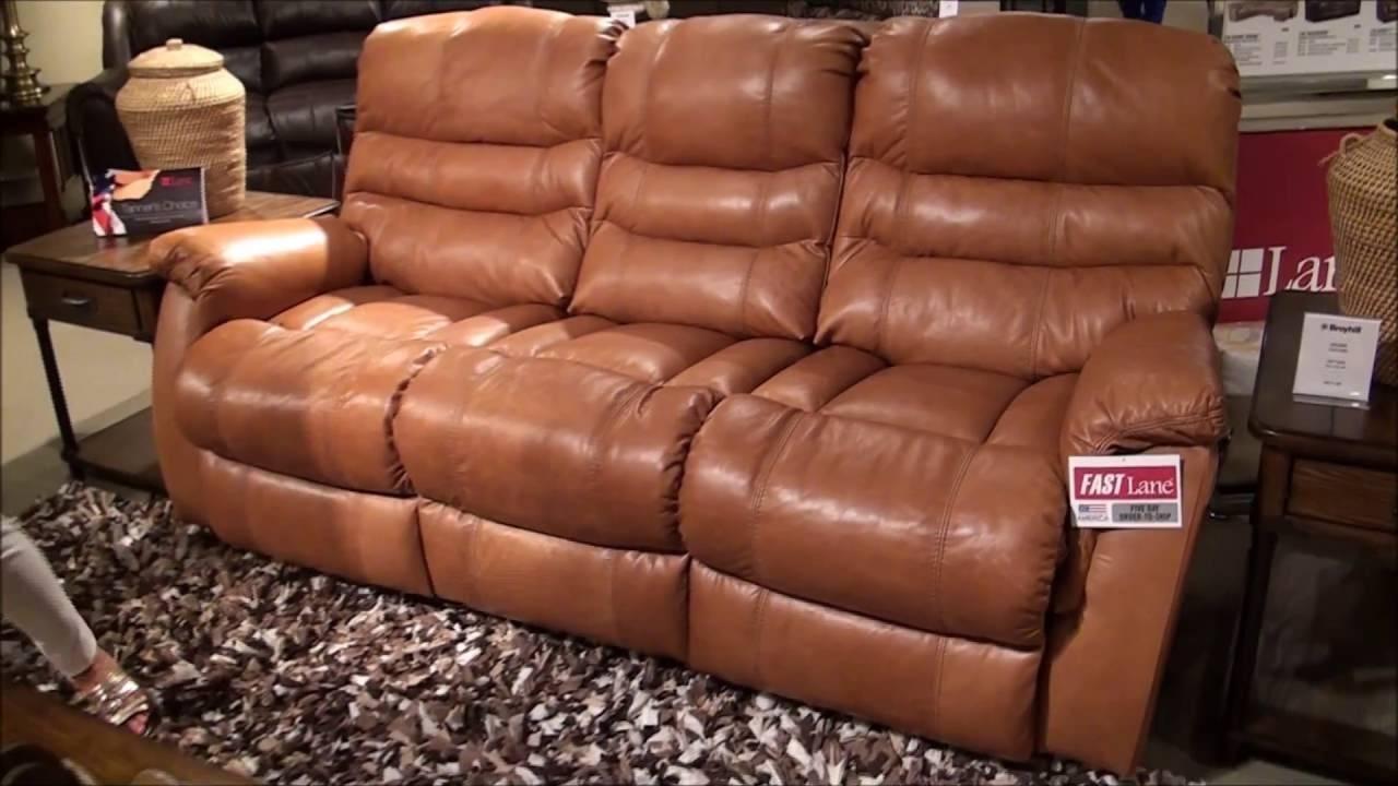 Garrett Power Reclining Sofalane Furniture - Youtube regarding Lane Furniture Sofas (Image 7 of 25)