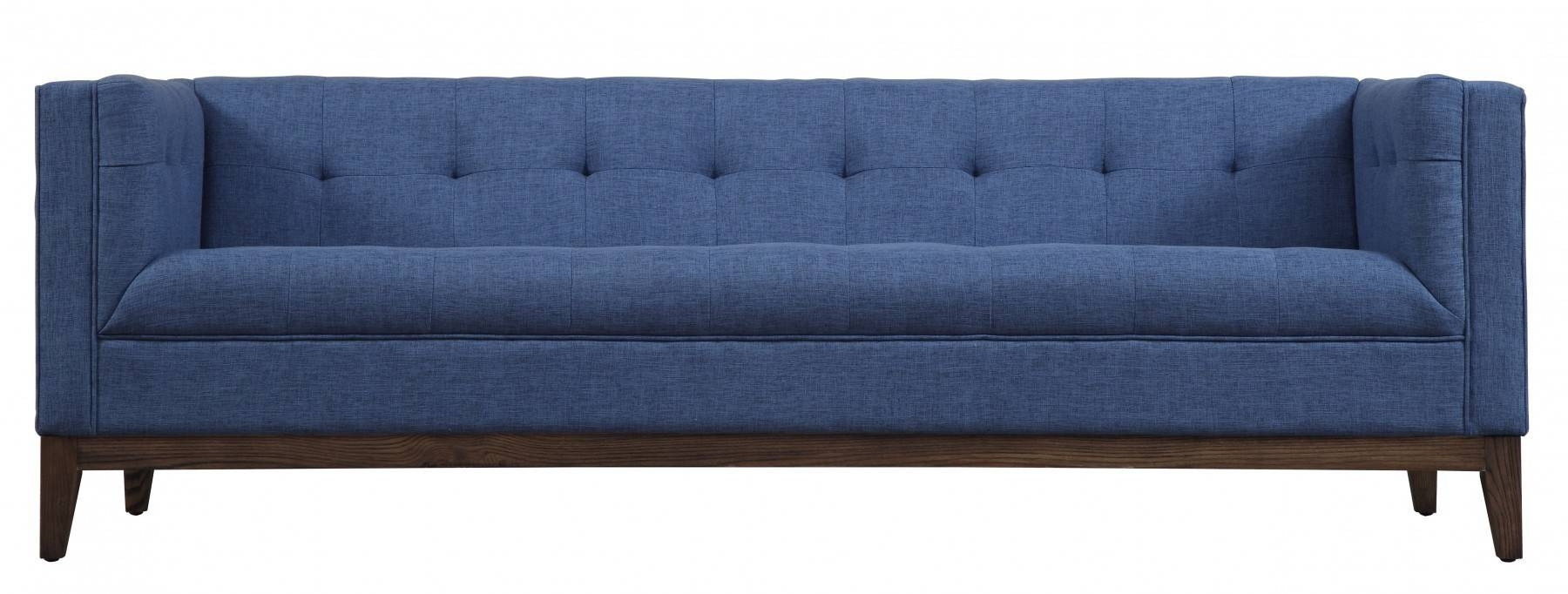 Gavin Linen Sofatov Furniture Buy Online At Best Price - Sohomod for Tufted Linen Sofas (Image 11 of 30)