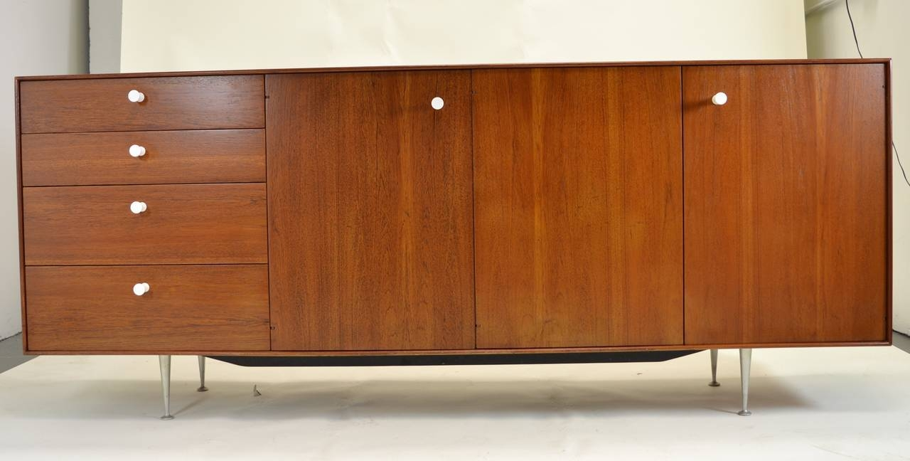 George Nelson Thin Edge Sideboard For Herman Miller, Circa 1950S in Thin Sideboards (Image 7 of 30)
