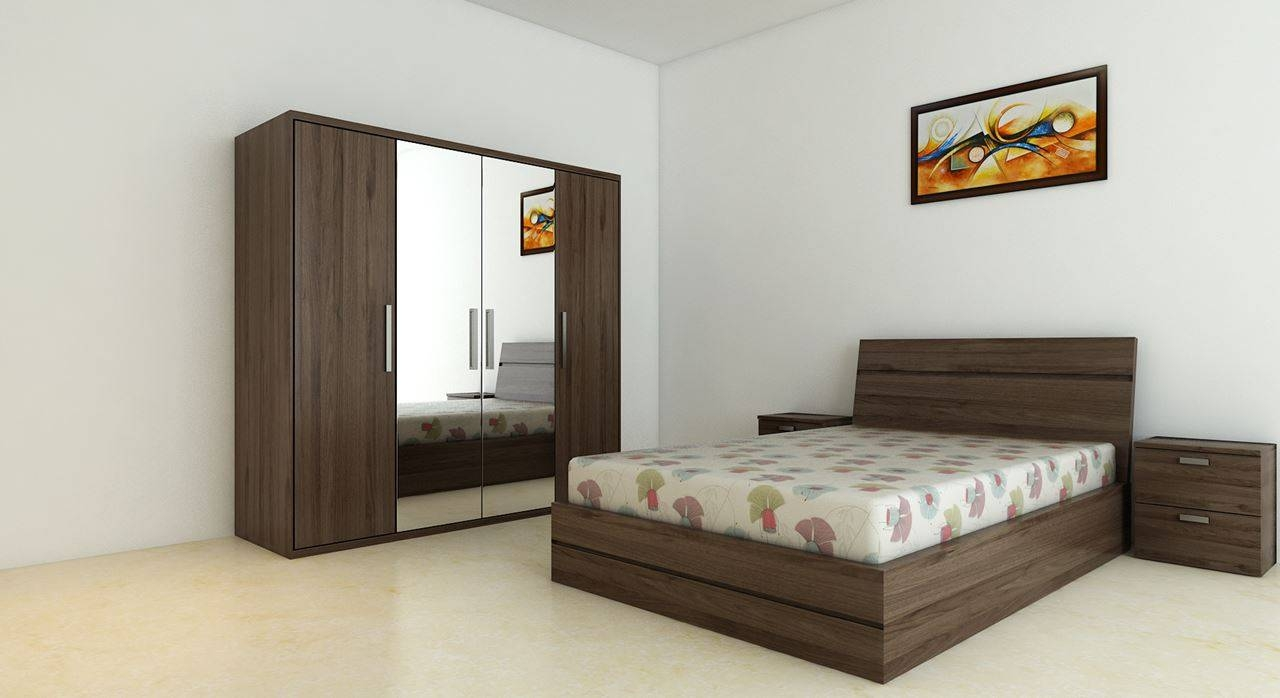 Get Modern Complete Home Interior With 20 Years Durability..bed intended for Wardrobes Sets (Image 11 of 15)