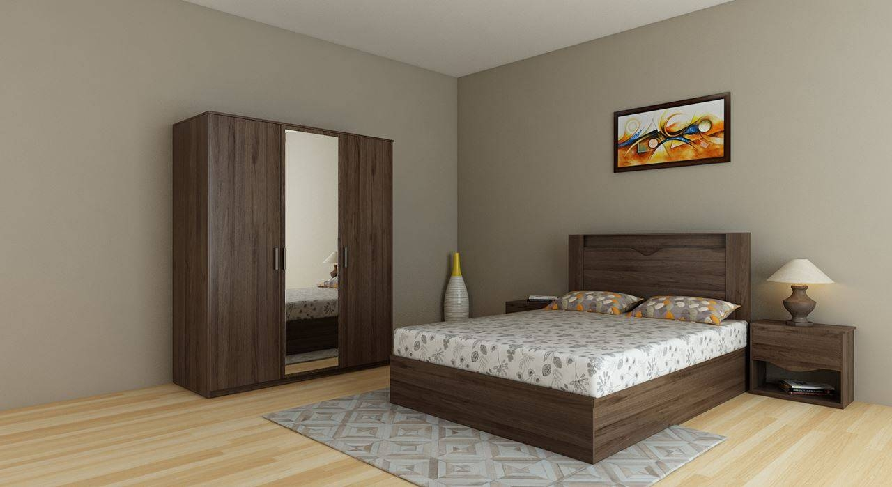 Get Modern Complete Home Interior With 20 Years Durability..bed within Wardrobes Beds (Image 12 of 15)