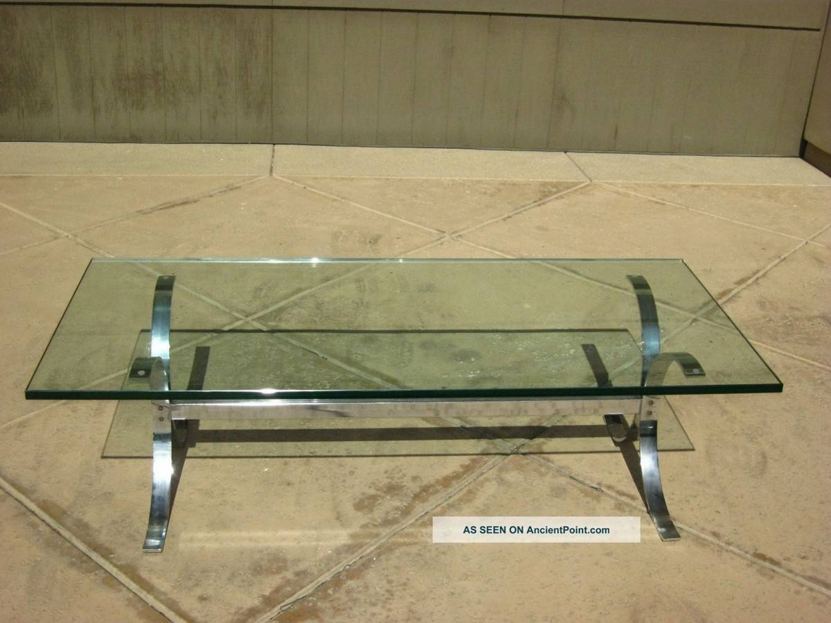 Getting To Know More Modern Coffee Table Set intended for Glass Chrome Coffee Tables (Image 16 of 30)