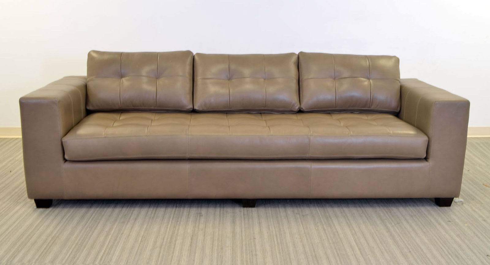 Gev Sofa ‹‹ The Leather Sofa Company pertaining to One Cushion Sofas (Image 7 of 30)