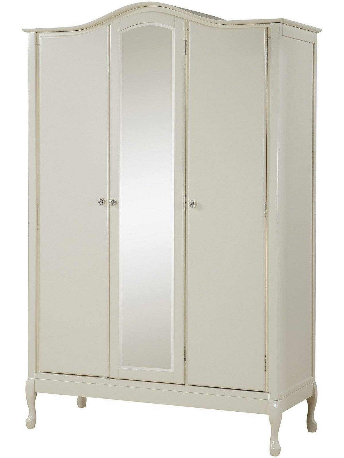 Gfw – The Furniture Warehouse – Loire 3 Door Robe With Mirror Regarding 3 Door French Wardrobes (View 6 of 15)