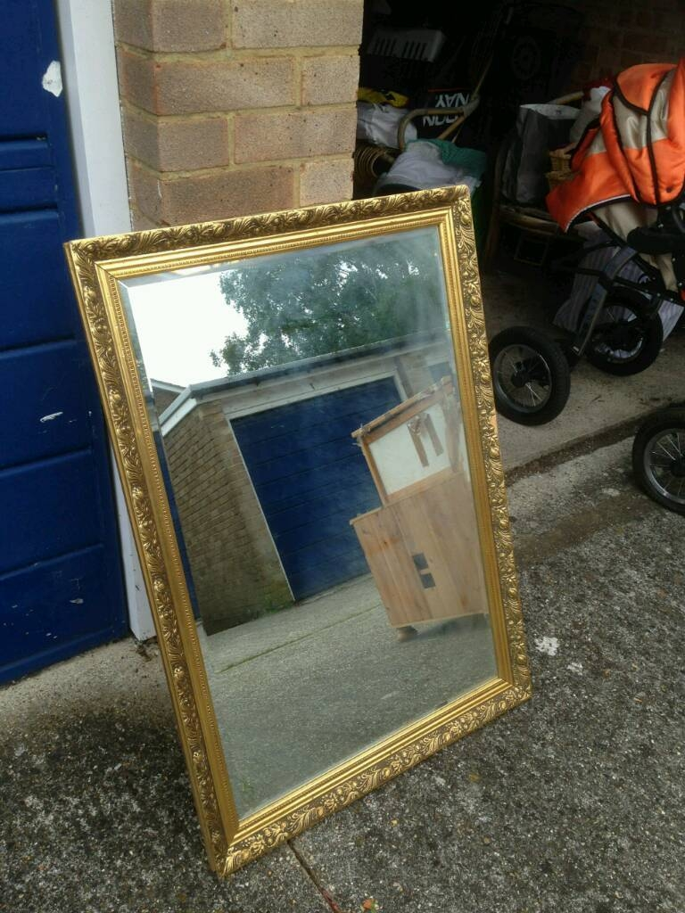 Gilt Edge Mirror | In Portslade, East Sussex | Gumtree regarding Gilt Edged Mirrors (Image 7 of 25)