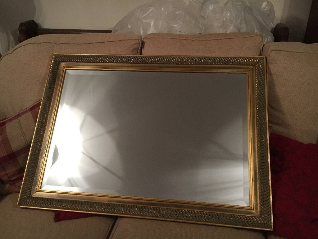 Gilt Edged Large Mirror | In Caversham, Berkshire | Gumtree regarding Gilt Edged Mirrors (Image 8 of 25)